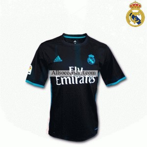 Real Madrid Away(Black) football shirt 2017-2018