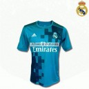 Real Madrid Away(green) football shirt 2017-2018