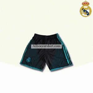 Real Madrid Away(black) Football Short 2017-2018
